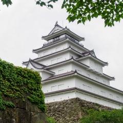 福島:鶴ヶ城(若松城)