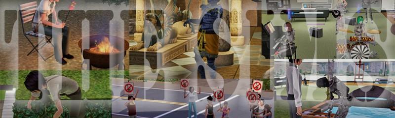 人生シュミレーションゲーム「SIMS(旧:シムピープル)」シリーズのファンサイトです