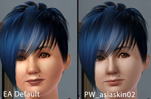 SIMS3 Asia Skin02(for Adult)配布開始